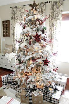 A Very Farmhouse Christmas Home Tour