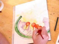 Watercolor Painting Demonstration By Lori Andrews