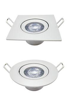 A Luminária SPOT SUPIMPA é indicada para destaque em paredes, focando objetos ou texturas. Nos formatos redondo ou quadrado, possui sistema direcionável para melhor ajuste do seu projeto.