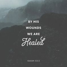 Isaiah He was wounded for our rebellious acts. He was crushed for our sins. He was punished so that we could have peace, and we received healing from his wounds. Jesus Bible, Bible Scriptures, Bible Quotes, Jesus Christ, Scripture Verses, Isaiah Quotes, Worship Scripture, Gospel Bible, Bible Truth