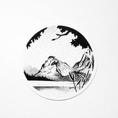 Pen and ink artwork on Instagram by Missfuriosa