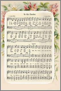 In the Garden ~ Free Hymn Printable