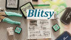Покупки для скрапбукинга из Америки. Сайт Blitsy.