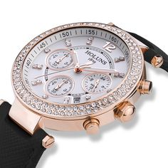Aliexpress.com : Buy New Fashion Luxury Brand HOLUNS Women Watches Waterproof 100M Chronograph Watches Diamond Ladies Watch Casual Quartz Watches from Reliable watches word suppliers on Original Brand Watch Mall   Alibaba Group