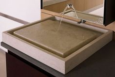 Purist Wet Surface Marble Vessel Sink