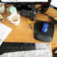 I'll be totally honest with you, my working habits are not the most tidy. My…