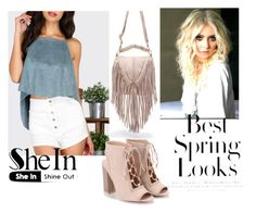 """""""#3/3 Shein"""" by ahmetovic-mirzeta ❤ liked on Polyvore featuring H&M"""