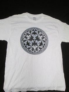 Escher Graphic Artist Adult T Shirt Eye M.C