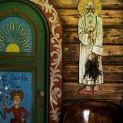 Lauvlia-Th.Kittelsens artist home. Detail from the interior.