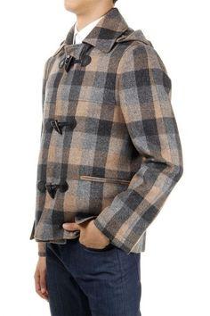 Martin Margiela tartan jacket with removable hood (art. S30AM0223 S41088 001)