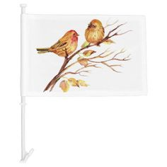 Watercolor Finch Cute Little Bird Nature art