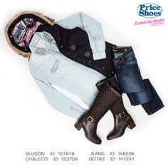 Mantente calientita y con estilo.  #ILOVEPS #PriceShoes #outfit #fresh #style #girl #sweet #fashion #Outfit #look #boots