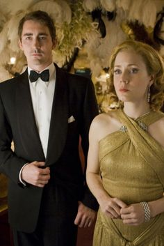 Miss Pettigrew Lives for a Day, 2008. This movie is wonderful,. I want to read the book sometime soon.