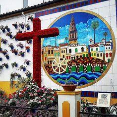 #cruz del #barriodecañero de #cordoba #crucesdemayo #cordobaenmayo #cordobaesp