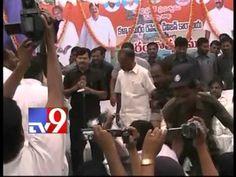 YSRCP MLA clash with A P minister Raghuveera