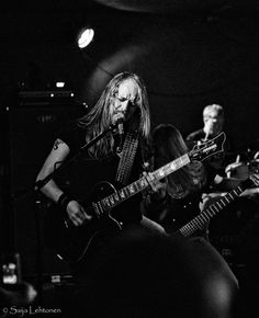 Anders Nystrom - Guitar — with Katatonia. #Katatonia #band #metal ##music #AndersNystrom