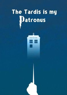 My patronus!...oh drat...pin on The Doctor or Harry Potter??