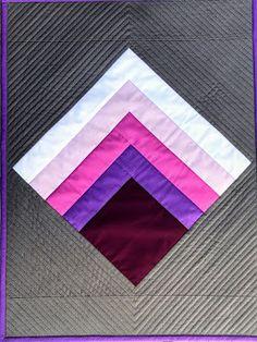 Dizzy Quilts: Josef Albers Inspired Mini #3