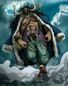 Luffy vs kaido king of the beast One Piece Luffy, One Piece Anime, Kaido Vs Luffy, Kaido One Piece, Manga Anime, Anime Art, Beast, One Piece Series, 0ne Piece