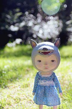 wolf by lulubaozi, via Flickr