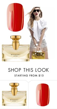 """""""they also run a background check on my friends family and this is when they realized they  know each other (Elsa) .... son in Marlboro ..."""" by awewa ❤ liked on Polyvore featuring Bulgari and Rock Cosmetics"""