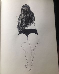 My gorgeous, curvy, sexy woman with her lustrous, long, dark hair. Sexy Drawings, Art Drawings, Illustrator, Plus Size Art, Fat Art, Arte Pop, Art And Illustration, Erotic Art, Love Art