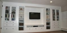 How to create a built-in using IKEA furniture...