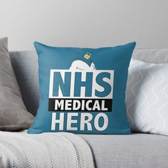 Thank You Nurses, Get Well Gifts, Designer Throw Pillows, Pillow Design, Classic T Shirts, National Health, Hero, Printed, Awesome
