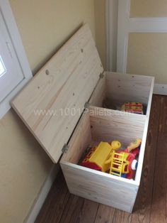 Toy chest #packaging #DIY