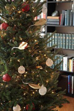 12 Cool Natural DIY Christmas Ornaments | Shelterness