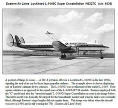 Eastern Airlines L-1049 C Super Constellation