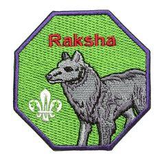 Raksha Embroidered Fun Bagde