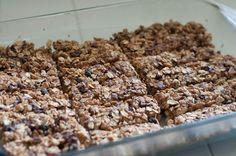 Home-made granola bars