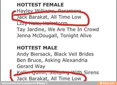 *looks at this for the first time* LOL! *looks a second time* Wait... Th- There's no band listed by Gerard's name... :'(