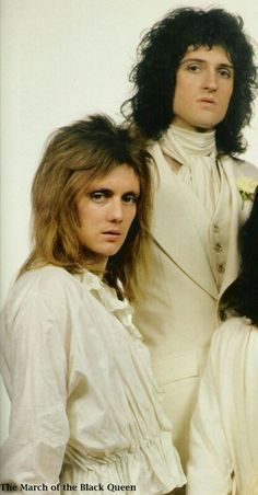 Roger Taylor and Brian May of Queen.
