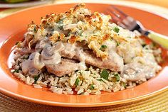 Mushroom Herb Veal Gratin | Veal Recipes