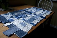 Woven Jeans Quilt
