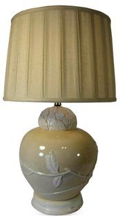 Frederick Cooper Floral Motif Lamp Base
