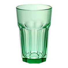 IKEA - СОММАР 2017, Стакан, Также подходит для горячих напитков.Изготовлено из прочного закаленного стекла.