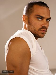 "Clay Bennett (Jesse Williams)--DarkRiver Sentinel, mate to Talin ""Tally"" McKade, and male protagonist of Mine to Possess."
