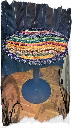 Asi quedo mi mesa / mosaico cápsulas nespresso