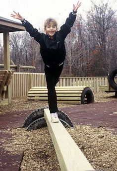 playground makes good use of old tires