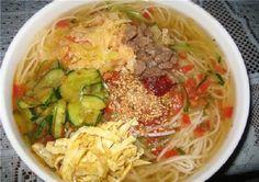 Холодный корейский суп «Кукси» с говядиной ( Корейская кухня ) | Наша кухня - рецепты на любой вкус!