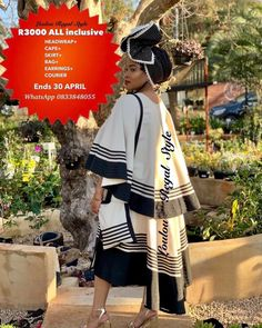 African Traditional Wear, Traditional Outfits, African Clothes, African Fashion Dresses, Xhosa Attire, Afro Punk Fashion, Mom In Law, Style Fashion, Kimono Top