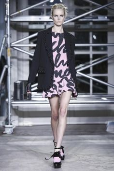 Moschino Cheap and Chic Fall Winter Ready To Wear 2013 London