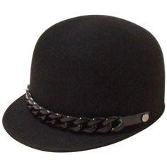 Encantador lindo de Lana Invierno mujer Riding Sombrero gorra de Béisbol Casquillo de La Manera   Supernatural Styl