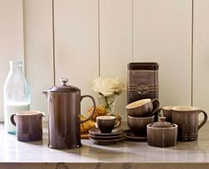 Le Cruset Cafe Collection . . . this is definitely on my wish lst . . . :-)