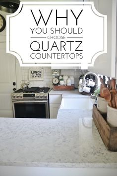 Why Quartz is the best - Pros & cons of quartz countertops- a must pin if…