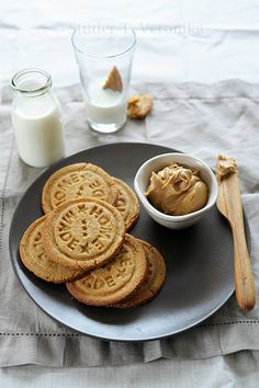 Peanut Butter Cookies ......  Home made by StuderV, via Flickr