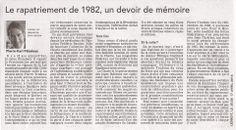 rapatriement 1982  #PKP